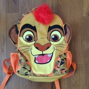 Lion guard back pack.